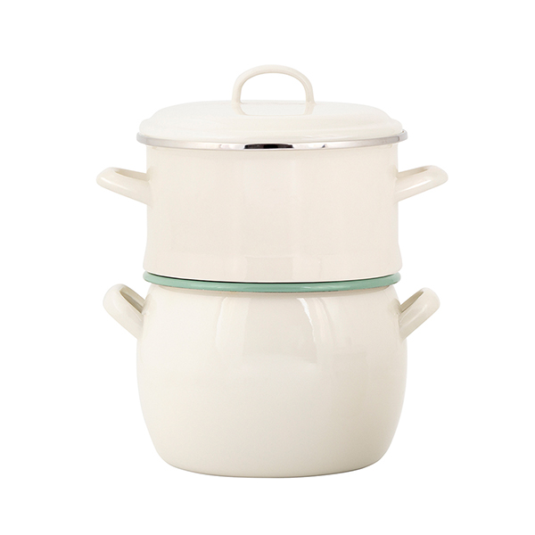 Pakke Bellied Pot and Colander i gruppen Pakke hos Kockums Jernverk AB (PA-9901-004)