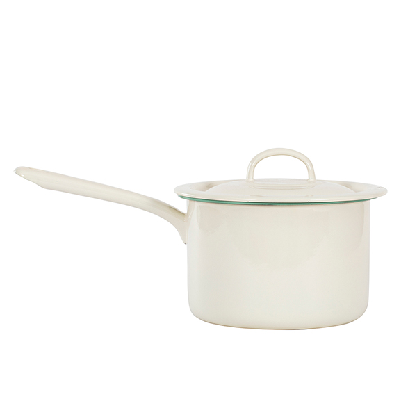 Pot with handle i gruppen Emaljeret stål hos Kockums Jernverk AB (POT-004)